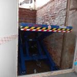 Применение одноножничных подъемных столов ГК Техносистемы