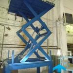 Применение двухножничных подъемных столов ГК Техносистемы