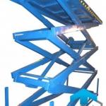 Трехножничные подъемные столы ГК Техносистемы