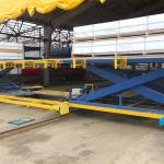 Мобильный подъемный стол для крупногабаритных грузов ГК Техносистемы