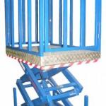 Двухножничный подъемный стол ГК Техносистемы