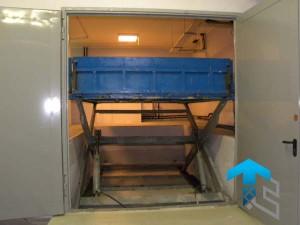 ГК Техносистемы поставила два подъемных стола г/п 2000 кг для ГК ИНТЕКО, Москва