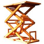 Варианты покраски подъемных столов ГК Техносистемы