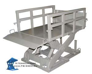 Одноножничные подъемные гидравлические столы