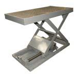 Электромеханические подъемные столы