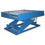 Подъемные гидравлические столы с рольгангами производства Группы Компаний Техносистемы