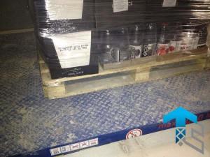 ГК Техносистемы поставила два подъемных стола г/п 2000 кг для Гипермаркета Карусель, Московская область