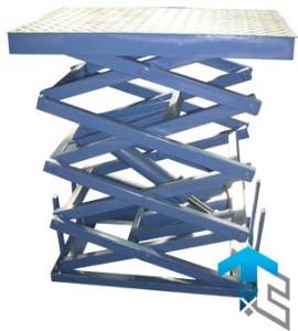 Фотографии четырехножничных подъемных столов