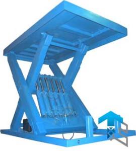 Усиленные подъемные столы - тяжелая серия - производства Группы Компаний Техносистемы