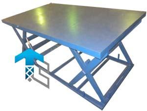 Фотографии подъемных столов с последовательными ножницами