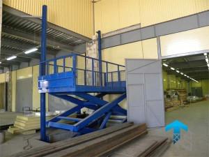 Применение подъемных столов на производстве