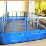 Ворота на столешнице подъемного стола ГК Техносистемы