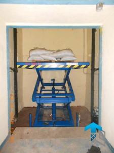 ГК Техносистемы поставила подъемный стол г/п 500 кг для Теленэт, Москва