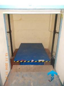 ГК «Техносистемы» поставила подъемный стол г/п 500 кг для Теленэт, Москва