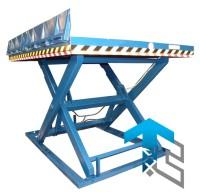 Фотографии одноножничных подъемных столов