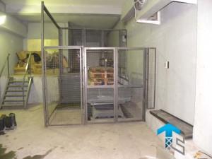 ГК Техносистемы поставила подъемный стол г/п 1000 кг для Макдоналдс, Москва