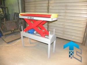 Электромеханический подъемный стол для холдинга Кордиант