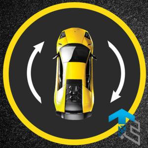 Поворотная платформа для автомобилей производства Группы Компаний Техносистемы