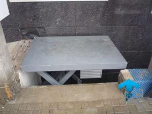 Трехножничный подъемный стол для компании VAMED AG, Краснодар